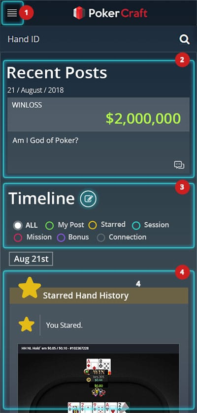 Pokercraft timeline 01