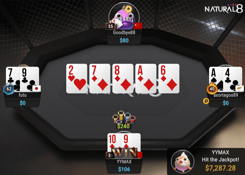 All in or Fold Jackpot Hold'em