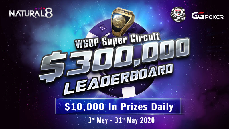 WSOP Super Circuit Daily Leaderboard